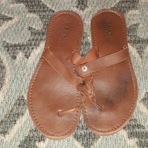 Lauren flip flops